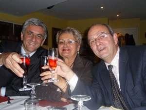 Hervé Morin à la table de la Fédération du Gard