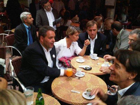 2009 6 25 avec Xavier Bertrand a Perpignan