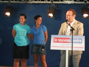 Laure Alteirac, Fanny Rouveret et Damien Abad, à l'honneur!