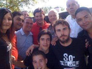 Groupe avec Cavada